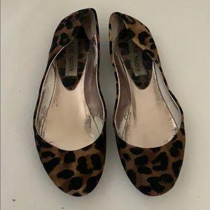 steve madden leopard flats size 6